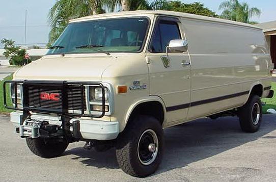 1994 GMC 4X4 van.