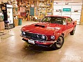 0904phr 15 z+1969 ford boss 429 mustang+in garage