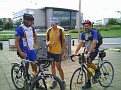 Manfed, Timur und Andreas am Startplatz
