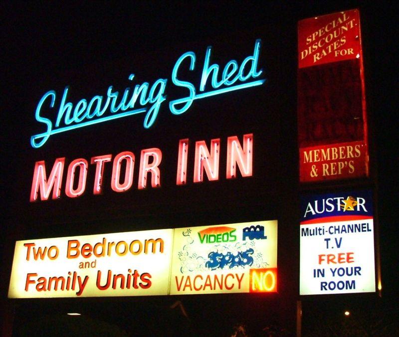 Shearing Shed Motor Inn  Dubbo