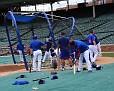 Cubs Batting Practice