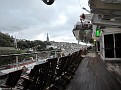 Cobh from QM2 - St Coleman's Cathedral