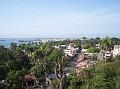 Vue sur la Baie du Cap Haitien venant du balcon de l'hotel Mont Joli.