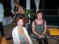 Financial planner from ASD BrokerageTerry Granot and haitian art collector Suzane Karten from Boca Raton.