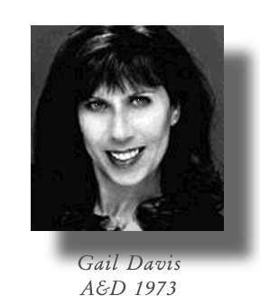 Gail Davis, Class of 1973