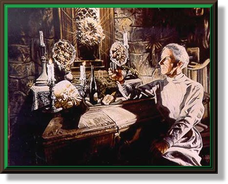 """Dr. Praetorius"" by Michael Wilk Class of 1974"