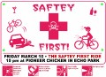 Safety Ride Flyer