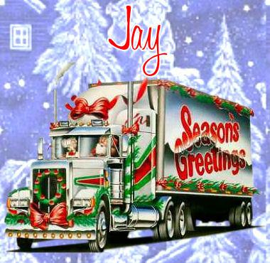 Seasons GreetingJay