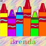 Crayons at schoolBrenda