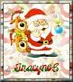 Santa with friendsTaTracynoE