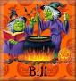2 Green WitchBill
