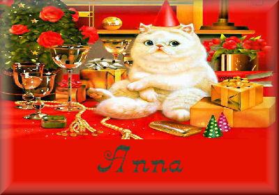 Cat XmasAnna