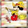 Minnie as witchTSheyla