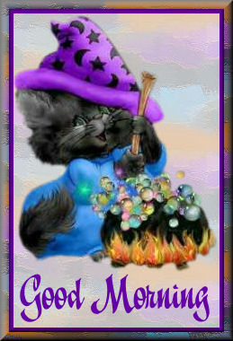 Kitty WitchTGood Morning