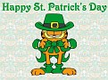 Garfield StPatWallpaper