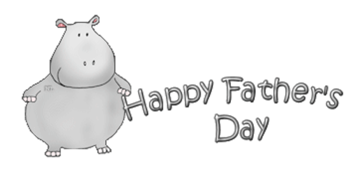 Happy Father's Day - CuteHippo2018