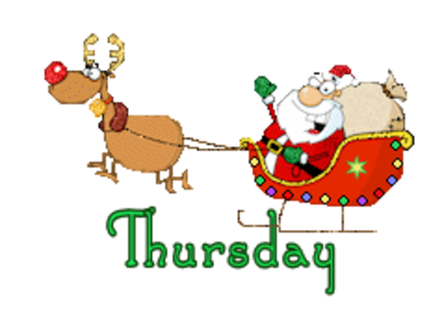 DOTW Thursday - SantaSleigh