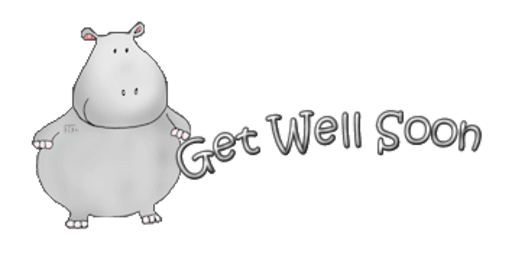 Get Well Soon - CuteHippo2018
