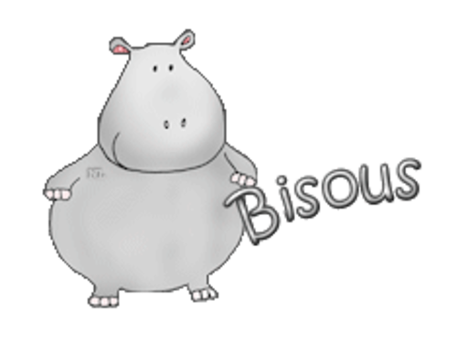 Bisous - CuteHippo2018