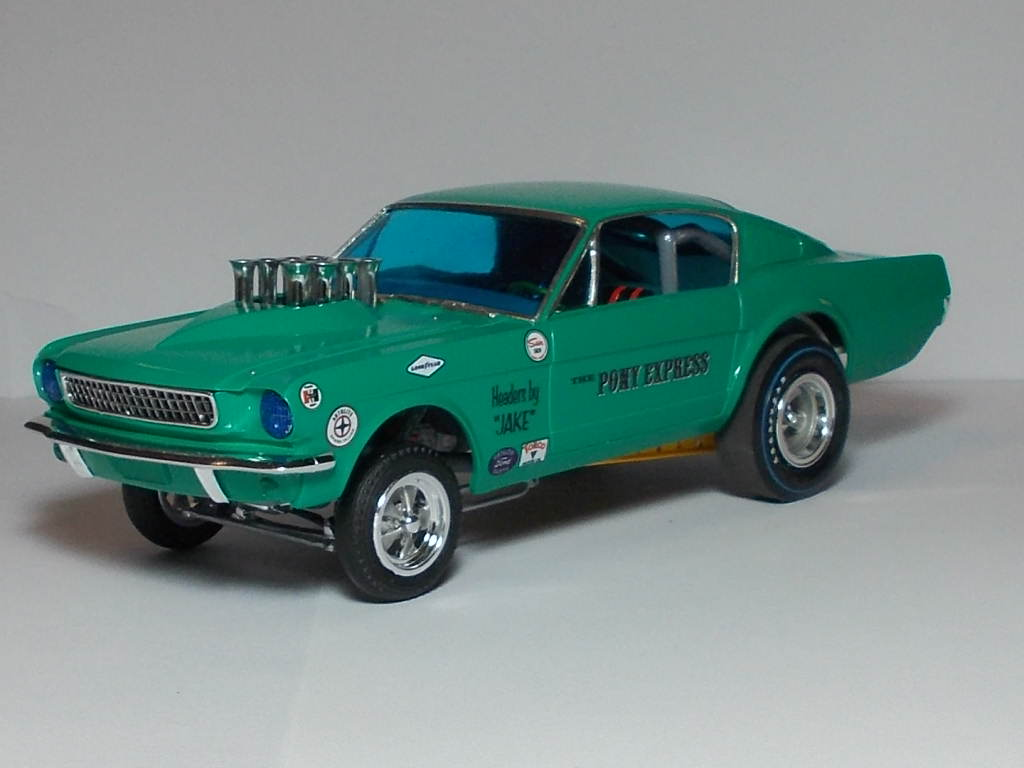 Randy Ayers Modeling Forum >> Randy Ayers Nascar Modeling Forums :: View topic - 65 Mustang Altered Wheelbase