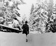 Schil Ed shovel snow ca1950