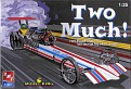 AMT #21489 Two Much Dragster