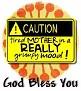 1God Bless You-caution