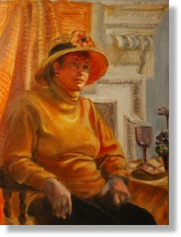 Lady in SunHat