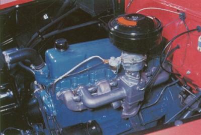 Photo: z engine bay or engine photo 955-1957-chevrolet ...