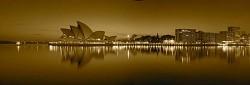 panoramic in sepia