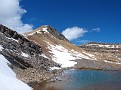 Cirque Peak and an unnamed tarn
