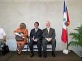 Marie Josee Ledan, Roland Jean Louis, David Brown