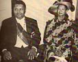 Jean Claude Duvalier et Simone Duvalier.
