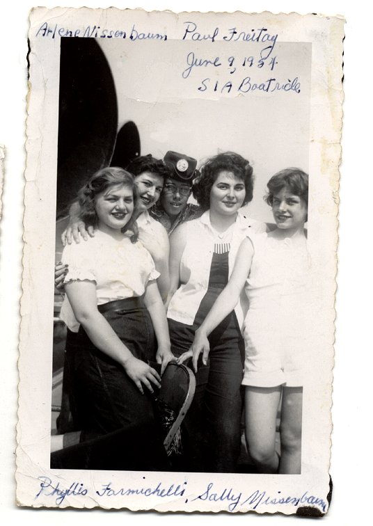 Arlene,Paul,Phyllis&Sally