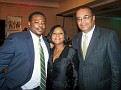 Mr Derick Brooks, Mrs Ronide Cayot president of   Village, Mr Victor Leon,President Baldwin Financial Services and Baldwin Realty,