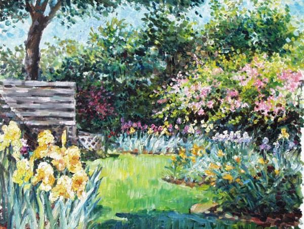 Quiet Corner of Garden