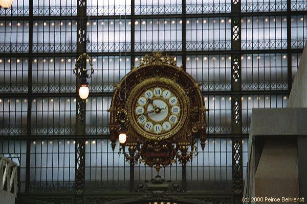 032 MUSEE DORSAY - CLOCK,