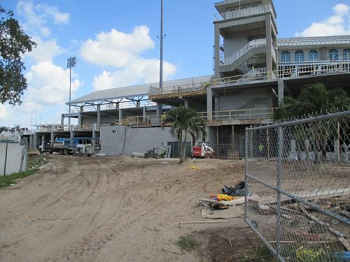 Construction in progress.