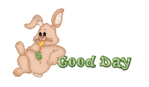 Good Day - BunnyWithCarrot