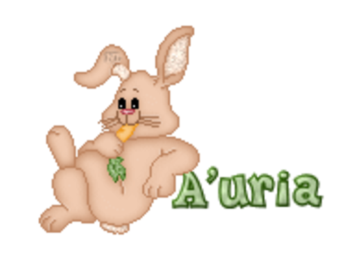 A'uria - BunnyWithCarrot