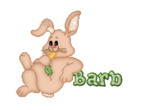 Barb - BunnyWithCarrot