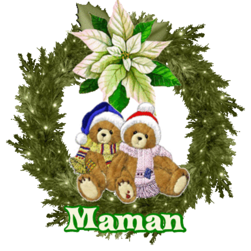 Maman - ChristmasTeddies-Sandra-Dec 2, 2018
