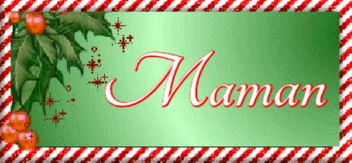 Maman - ChristmasName-Sandra-Nov 30, 2018