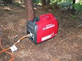Generator borrowed from N6TV