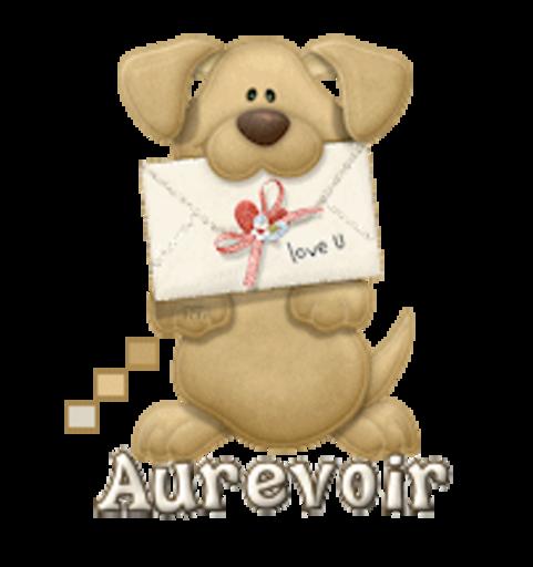 Aurevoir - PuppyLoveULetter