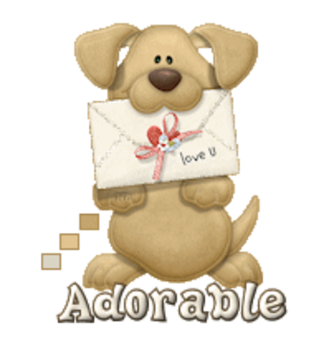 Adorable - PuppyLoveULetter