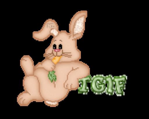 TGIF - BunnyWithCarrot