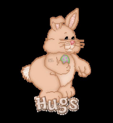 Hugs - BunnyWithEgg