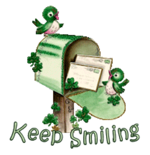 Keep Smiling - StPatrickMailbox16