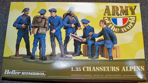 Army of the World French soldiers